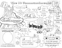 Small Picture Do Not Covet Coloring Pages In Free Printable Ten Commandments