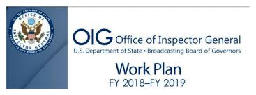 Oig Work Plan Fy 2018-2019 And Monthly Updates - The Fox Group