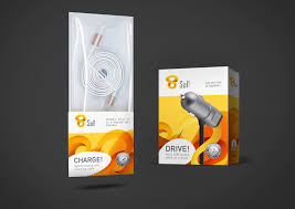 Mobile Charger Packaging Design Future Cell Private Labels Packaging Branding Design
