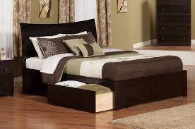 atlantic furniture soho king storage platform bed  reviews  wayfair