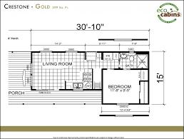most popular size ecocabins floor plan