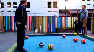 life size pool table super sized pool table youtube