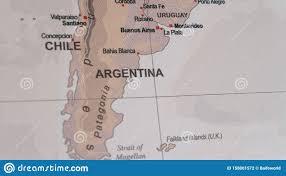 Mappa Dell'Argentina E Del Cile Su Un Globo Geografico Il Mondo Delle Tela  Dei Confini Geografici Amministrativi Fotografia Stock - Immagine di  simbolico, pianeta: 158001572
