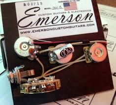 emerson custom blender wiring harness for fender 5 way strat