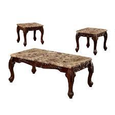 End Table And Coffee Table Set Astoria Grand Albertus 3 Piece Coffee Table Set Reviews Wayfair