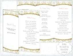 Cool Bulletin Template Word Funeral Program Microsoft Free 2 Wedding