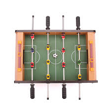 Miniature Wooden Foosball Table Game Popular sale mini 100100 Tabletop set Soccer Foosball Table Game 55