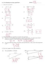 multiple step equations worksheeti and inequalities answers pre algebra practice solving worksheet multi word problems worksheets