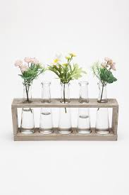 Laboratory Flower Vases- We had test tube vases similar to these at our  wedding & engraved with our wedding date. but they broke :C