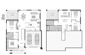 winsome small bi level house plans 3 split home floor horizon act floorplans mcdonald jones homes