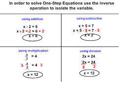 solving one step equations subtract 3 adding or subtracting the and word problems in order to