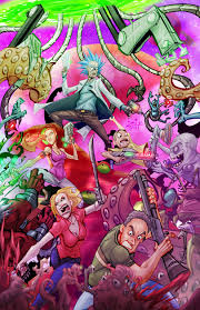 Rick and Morty Trippy Phone Wallpapers ...