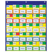 Details About Carson Dellosa Classroom Management Pocket Chart 1 Chart