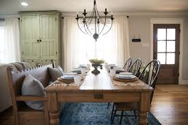 HGTV Fixer Upper The Carriage House Dining Room Recreation - House and home dining rooms