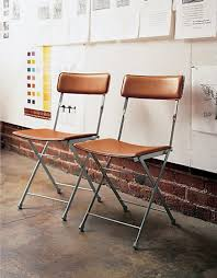 favorite folding chairs coombs design foldable leather chair