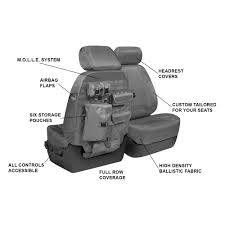coverscoverking cordura ballistic custom seat covers