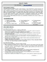 Real Estate Project Manager Resume Sample For Leasing Consultant Beauteous Project Manager Resume Sample