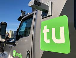 Image result for tusimple truck