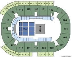 Coca Cola Coliseum Seating Chart Concert Ricoh Coliseum Seating Map Color 2018