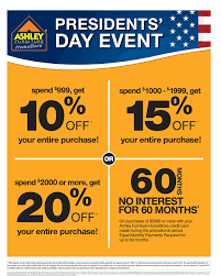 Presidents Day Event At AshleyFurniture in Richland WA