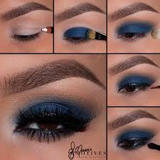 matte navy blue eyes pictorial