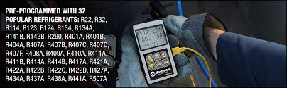 Mastercool 52246 Gray Compact Subcool Superheat Calculator