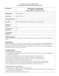 Job Posting Template Internal Job Posting Email Sample