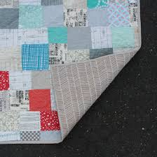 Low Definition Quilt // Finished Modern Quilt &  Adamdwight.com