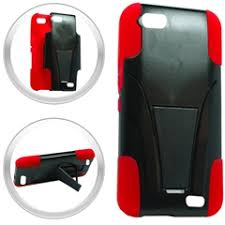huawei raven case. huawei raven h892l red double layered hybrid stand cover case g