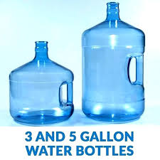 3 gallon water bottle 3 gallon water bottles jug clack and 5 blow molded glass