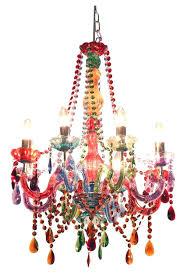 photo 3 of 9 funky gypsy multicoloured chandelier light lighting good multi coloured australia co