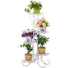 Outdoor Metal Raflar Shelves <b>Planten Rek</b> Support Plante Salincagi ...