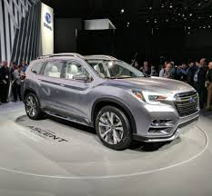 Everything You Need to Know about the 2018 Subaru Ascent Concept ...
