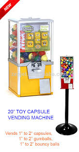 Capsule Vending Machine Enchanting Yellow Toy Capsule Vending Machine Zj48 Buy Toy Capsule Vending