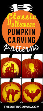 Free Pumpkin Carving Patterns Amazing 48 FREE Pumpkin Carving Patterns From The Dating Divas