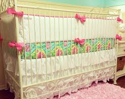 custom baby bedding via luxury baby nursery