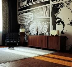 cool living rooms. Living Room Wall Design Ideas - Cool Examples Of Wallpaper Pattern Rooms