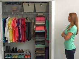 four steps to an organized closet