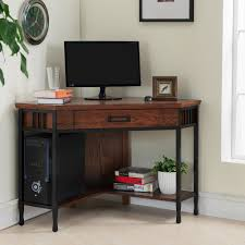 wood home office desks small. Furniture : Black Desk Small Pc With Shelves Office Drawers Oak Writing Solid Wood L Shaped Computer Buy Home Desks