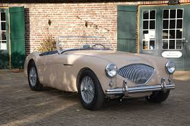 1953 coronet bmc classics austin healey sports cars comes period accessories like a rare lucas spare bulb and fuse box on the firewall as well as the king dick jack in it s original holder