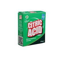 dripak clean natural citric acid 250g