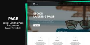 Muse Website Templates Extraordinary Page EBook Landing Page Muse Template By MuseMaster ThemeForest
