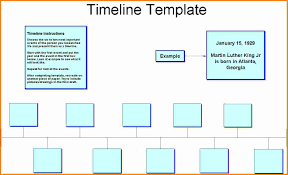 a timeline template sample timeline template for kid