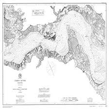 James River Depth Chart Amazon Com 8 X 12 Inch 1882 Virginia Old Nautical Map
