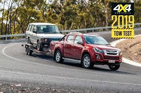 Tow Test 2019 Isuzu D Max Review 4x4 Australia