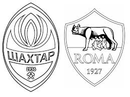 Kleurplaat Uefa Champions League 2018 Fc Shakhtar Donetsk As Roma 6