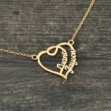 whole personalized heart name necklace name necklace name heart necklace gift for her custom necklace gold pendant necklaces mens pendant