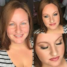 professional makeup services before and after