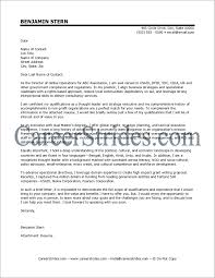 Executive Director Cover Letter For Resume