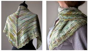 Knitted Shawl Patterns Interesting Free Free Stockinette Stitch Shawl Knitting Patterns Patterns